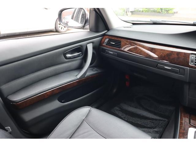 320i ハイラインパッケージ 後期直噴170馬力モデル BMWパフォーマンスマフラー スポーツテクニック18インチ 黒革シート(38枚目)