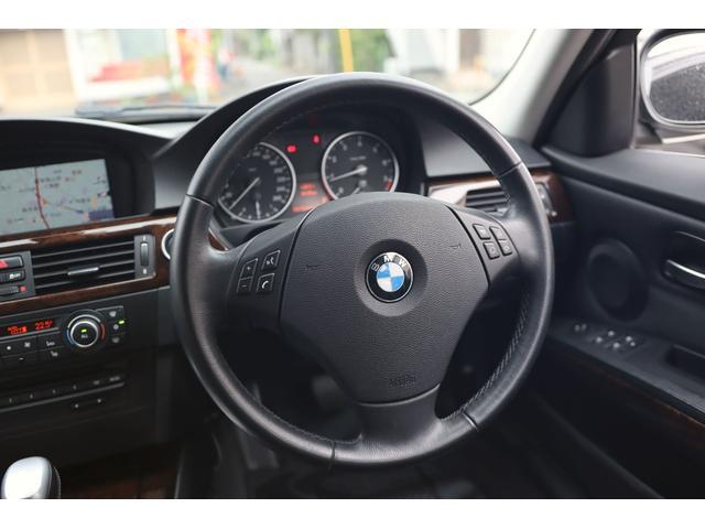 320i ハイラインパッケージ 後期直噴170馬力モデル BMWパフォーマンスマフラー スポーツテクニック18インチ 黒革シート(40枚目)