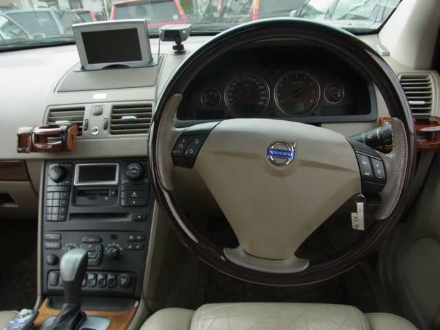 ボルボ ボルボ XC90 T-6 4WD エアスト20インチAW HDDナビ SR