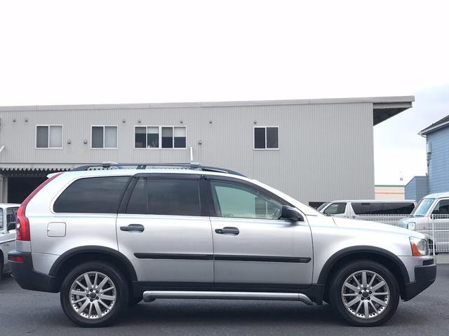 ボルボ ボルボ XC90 2.5T AWD サンルーフ ベージュ革 記録簿 保証書