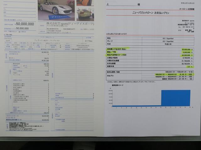 「フェラーリ」「フェラーリ 812スーパーファスト」「クーペ」「東京都」の中古車34