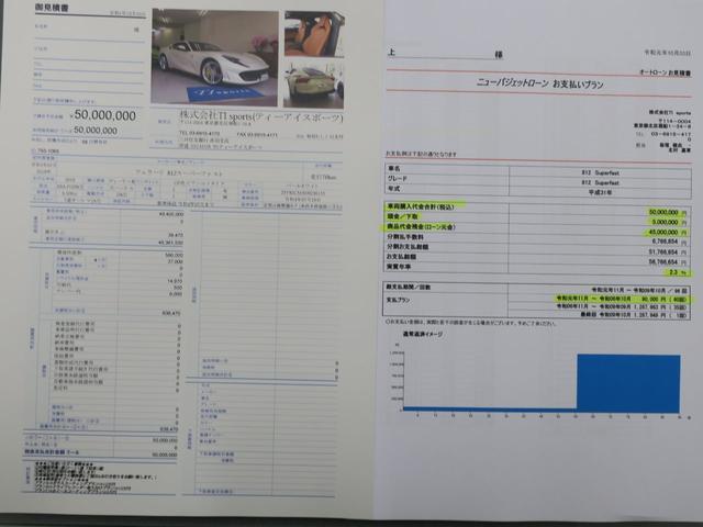「フェラーリ」「フェラーリ 812スーパーファスト」「クーペ」「東京都」の中古車52