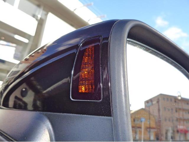 死角に追い越し車両が居る時にはこちらのランプが点灯いたします