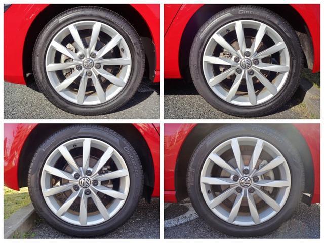 タイヤサイズ225/45/R17純正10スポークアルミホイールを装着しております。