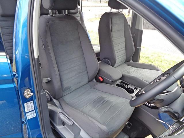 座り心地の良いコンフォートシートです。