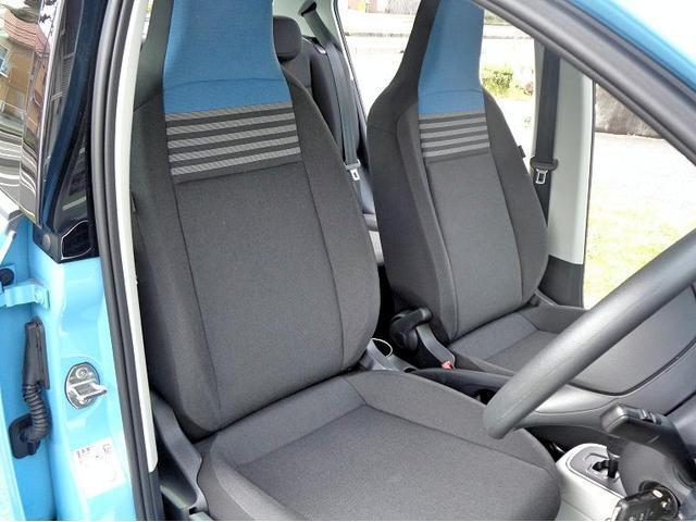 使用感の少ないフロントシート