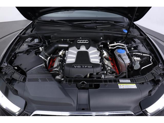 アウディ アウディ S5カブリオレ 左H 後期モデル 茶幌 黒茶レザー バングアンドオルフセン