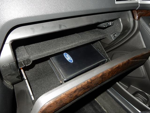 フォード フォード エクスプローラー リミテッド ブラックレザーシート