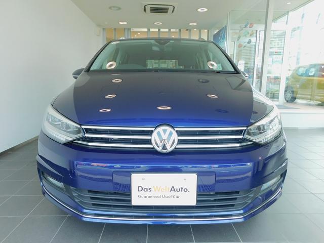 フォルクスワーゲン VW ゴルフトゥーラン ハイライン 純正SDナビ バックカメラ LEDヘッドライト