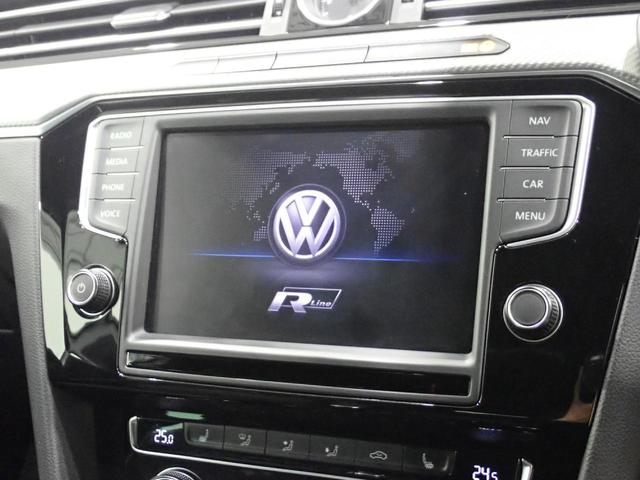 TSI Rライン 1オーナー 純正ナビ フルセグ CD/DVD視聴可能 Bluetooth装備 バックカメラ 追従クルーズコントロール 後方死角検知 専用レザーシート シートヒーター LEDヘッドライト(47枚目)
