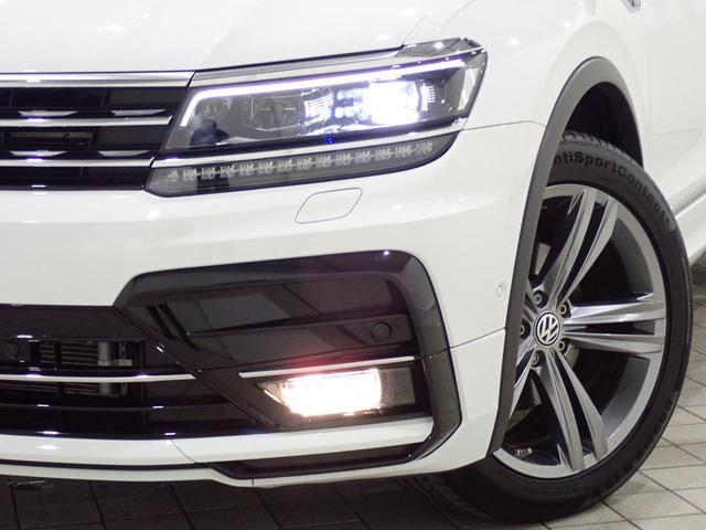 TSI Rライン 認定中古車 ワンオーナー LEDヘッドライト デジタルメーター スマートキー アラウンドビューモニター自動追従機能ACC 純正SDナビ(23枚目)