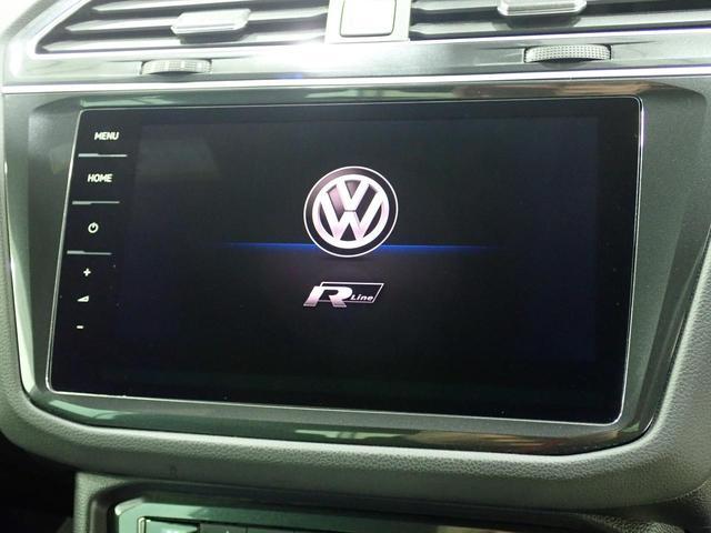 TSI Rライン 認定中古車 ワンオーナー LEDヘッドライト デジタルメーター スマートキー アラウンドビューモニター自動追従機能ACC 純正SDナビ(47枚目)