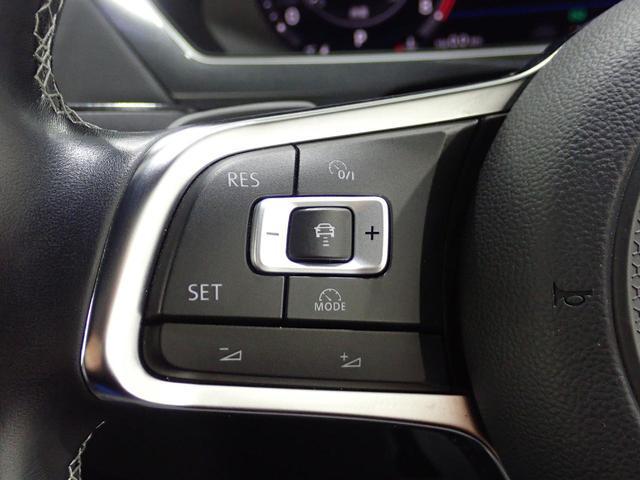 TSI Rライン 認定中古車 ワンオーナー LEDヘッドライト デジタルメーター スマートキー アラウンドビューモニター自動追従機能ACC 純正SDナビ(51枚目)