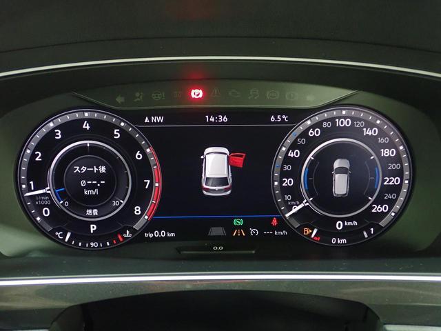 TSI Rライン 認定中古車 ワンオーナー LEDヘッドライト デジタルメーター スマートキー アラウンドビューモニター自動追従機能ACC 純正SDナビ(55枚目)