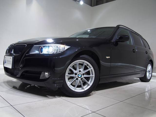 BMW BMW 320iツーリングハイライン後期LCi黒革禁煙車純HDDナビ