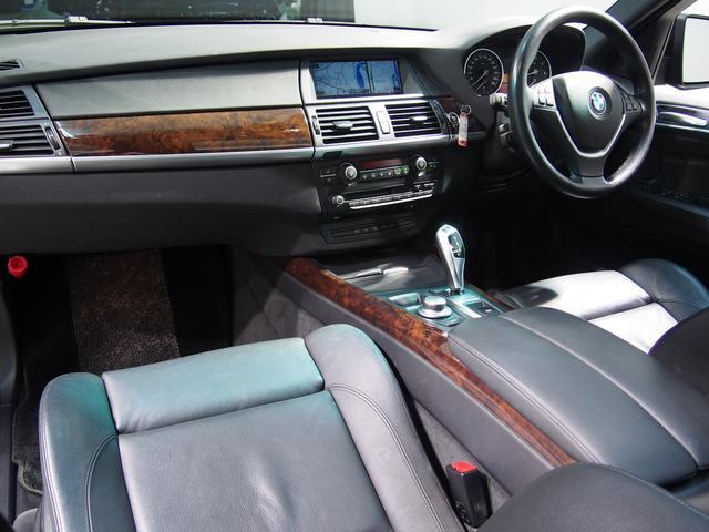 BMW BMW X5 4.8i黒革パノラマSR7人乗りHDDナビ地デジ19AW