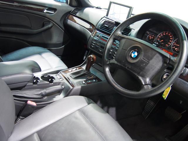BMW BMW 320iハイライン黒革シートヒーター社外HDDナビ純16AW