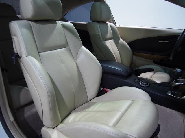 BMW BMW 650iアイボリー革HDDガラスSRクルコン純19AW