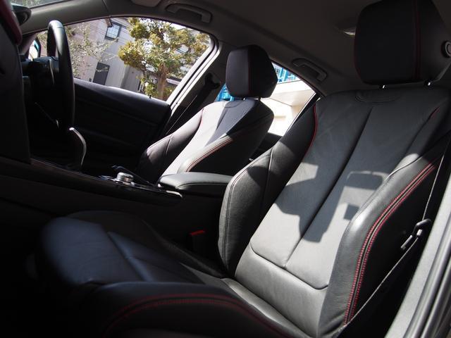 メモリー付きパワーシートにシートヒーター、ランバーサポート、サイサポートと至れりつくせりのFシート!