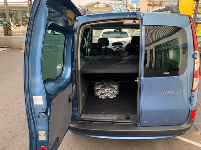 ルノー ルノー カングー ゼン 1.2ターボ 6速EDC マルチルーフレール ETC