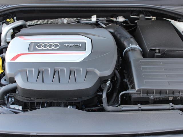 高出力、低燃費を両立させたTFSIエンジン。