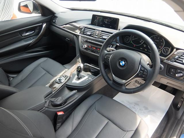 BMW BMW 320dツーリング ラグジュアリー2年保証付 ブラックレザー