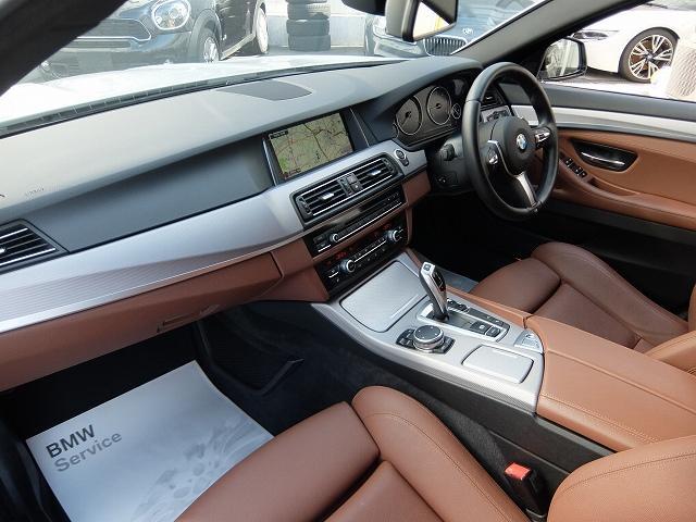 BMW BMW 523dツーリング Mスポーツ 2年保証付 ACC 茶革
