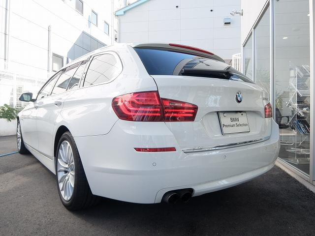 BMW BMW 523iツーリング ラグジュアリー 2年保証付 ACC 黒革