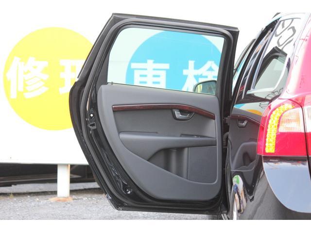 ボルボ ボルボ V70 2.5T LE 全車検時Dラー記録簿 純正HDDナビ 禁煙車