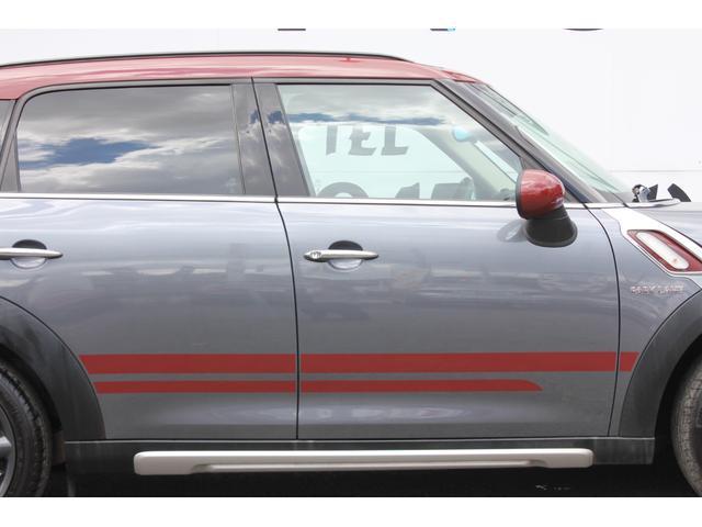 クーパーD クロスオーバー パークレーン ナビゲーションパッケージ  禁煙車 フルセグ バックカメラ 専用18インチAW  スポーツボタン ハーフレザー シートヒーター レインセンサー 特別仕様車(32枚目)