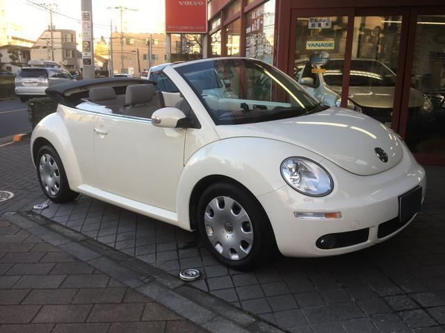 「フォルクスワーゲン」「VW ニュービートルカブリオレ」「オープンカー」「東京都」の中古車6