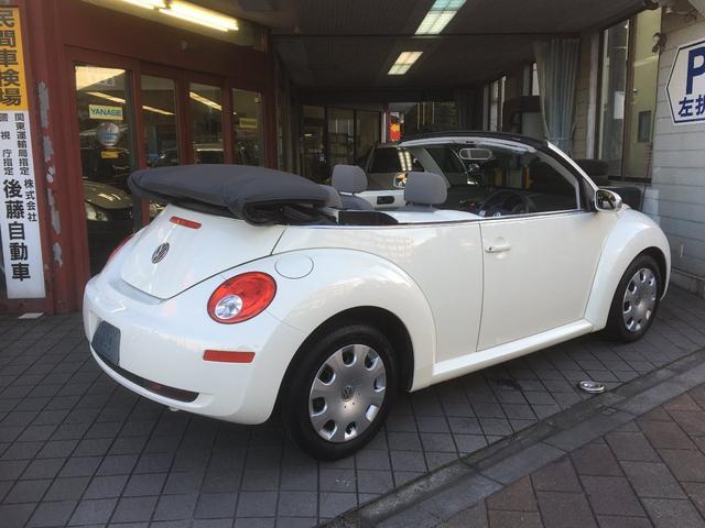 「フォルクスワーゲン」「VW ニュービートルカブリオレ」「オープンカー」「東京都」の中古車8