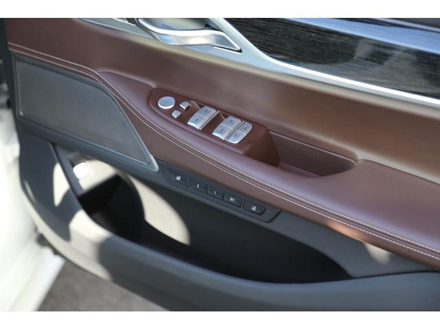 740d xDrive Mスポーツ 茶革 リアエンタメ(18枚目)
