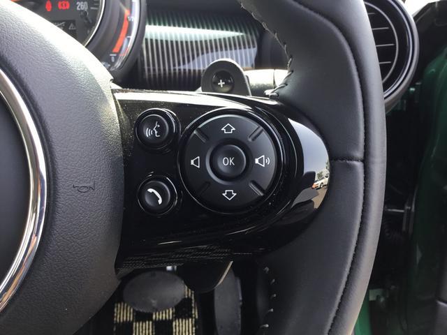 クーパーS 60イヤーズエディション 17AW 60周年限定車 前車追従クルコン 茶革スポーツシート LEDヘッドライト コンフォートアクセス シートヒーター バックカメラ 前後センサー パドルシフト インテリジェントセーフティ(14枚目)