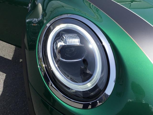 クーパーS 60イヤーズエディション 17AW 60周年限定車 前車追従クルコン 茶革スポーツシート LEDヘッドライト コンフォートアクセス シートヒーター バックカメラ 前後センサー パドルシフト インテリジェントセーフティ(21枚目)