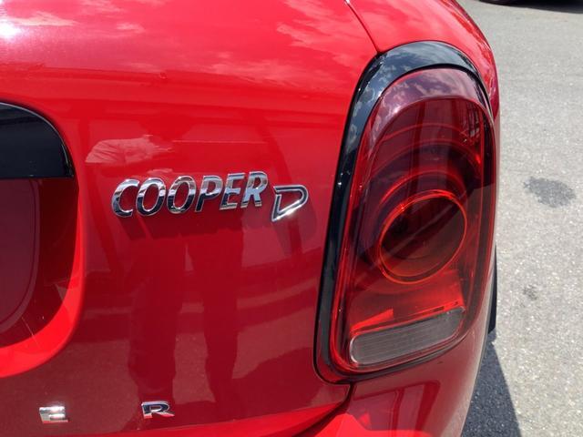 クーパーD クロスオーバー ペッパーパッケージ 前車追従機能 バックカメラ 後方センサー LEDヘッドライト 18インチAW コンフォートアクセス オートトランク Bluetooth ブラックミラーキャップ ミラーETC(40枚目)