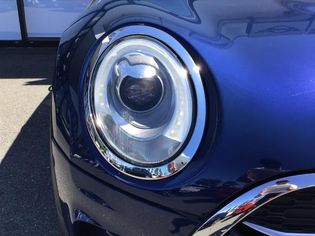 クーパーS クラブマン 17AW バックカメラ リアセンサー コンフォートアクセス LEDヘッドライト ミラーETC クルコン ペッパーPKG(26枚目)