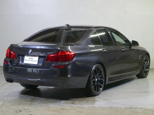 BMW BMW 523d Mスポーツ ガラスサンルーフ 黒革アクティブC