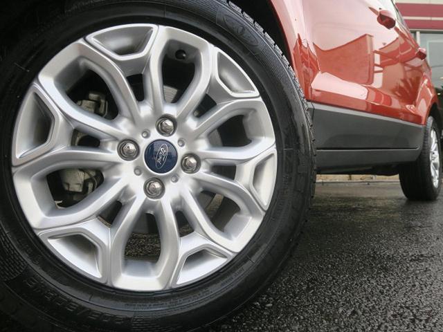 フォード フォード エコスポーツ タイタニアム 1オーナー クルコン 純正16アルミ ETC