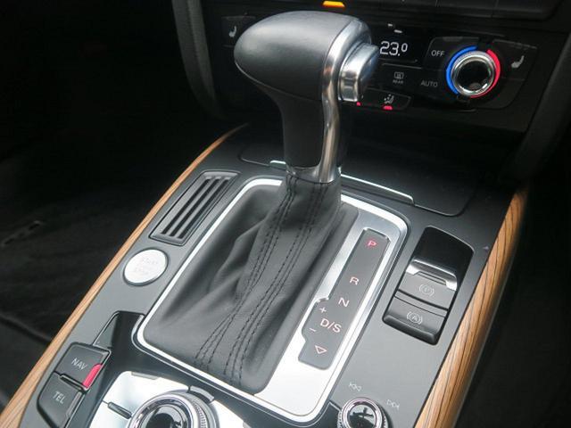 ●デュアルクラッチ式トランスミッション7速Sトロニックと、クワトロ(4WDシステム)を組み合わされています。『国産車とは一線を画す輸入車ならではの爽快な走りをお楽しみください!』