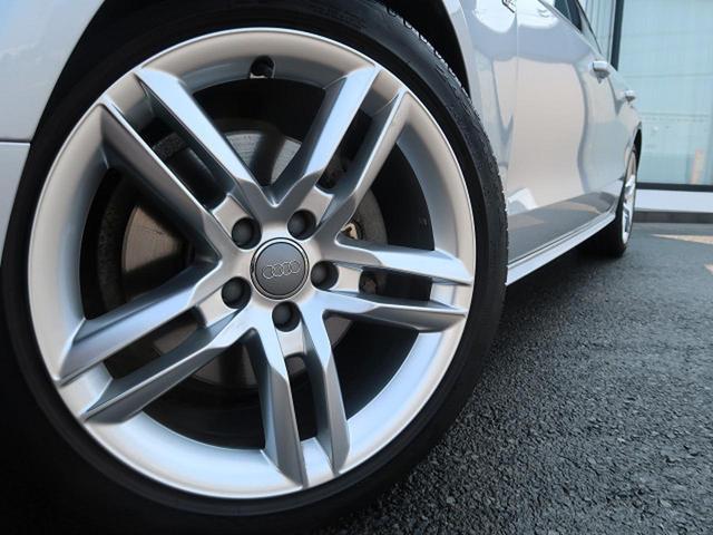 ●純正18インチアルミホイール『中古車では気になるタイヤの山も残っています。タイヤやアルミホイールのオーダーも安価にて可能です。お気軽にご相談ください。』