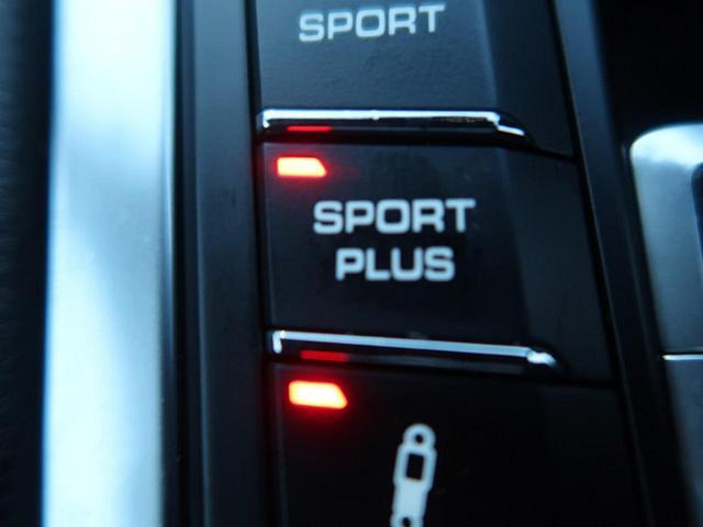 ●スポーツ・プラススイッチ『エンジンのレスポンスはさらに高められます。PASM装着車ではサスペンションのダンパーが固めにセッティングされ、ハンドリングがいっそうダイレクトになります。』