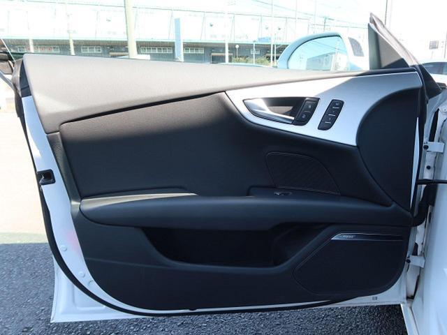 3.0TFSIクワトロ オプション20AW LEDヘッドランプ 1オーナー 衝突軽減ACC サイドアシスト 黒革 全席シートヒーター パドルシフト オートテールゲート アドバンスドキー 記録簿あり(34枚目)