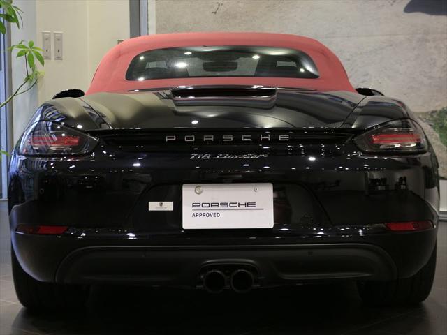 718ボクスター 2017年モデル 右H ポルシェ認定中古車保証 19インチボクスターSホイール スポーツクロノパッケージ GTスポーツステアリング シートヒーター 前後パークセンサー+バックカメラ オートエアコン(6枚目)