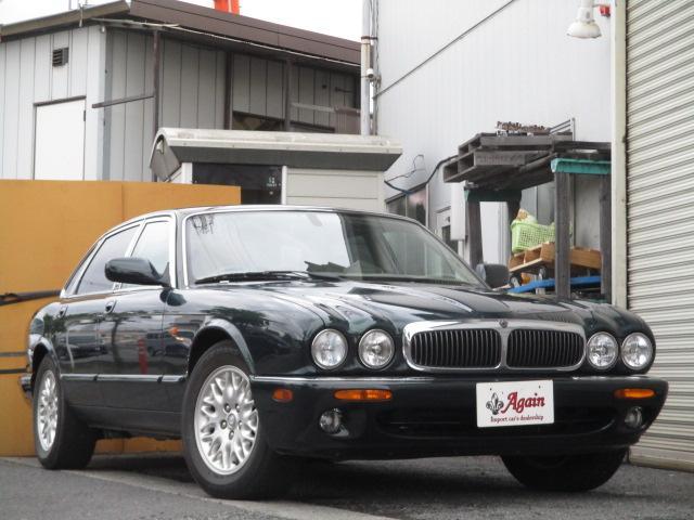 XJ エグゼクティブ本革シート地デジSDナビ53000キロ(7枚目)