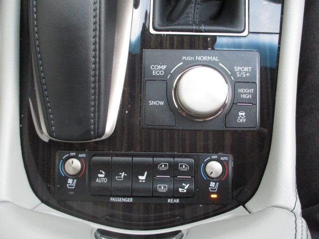 LS460 バージョンL 黒革BSMブランドスポットモニター 禁煙オートトランク エアロ地デジSDナビBカメラ全席パワーシート全席シートエアコンスマートキー(18枚目)