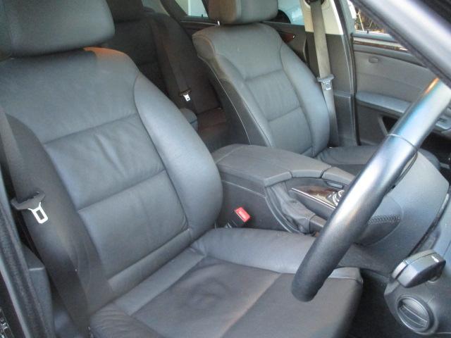 525iハイラインパッケージ 後期 サンルーフ 黒革 HDDナビ CD スマートキーレス クルーズコントロール ETC シートヒーター パワーシート HID 17AW(15枚目)