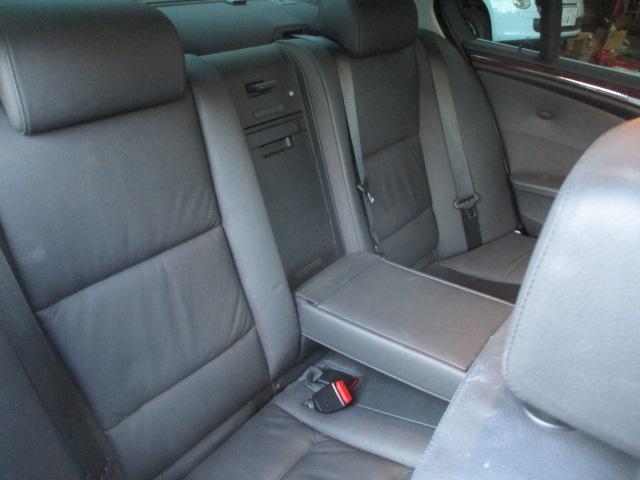 525iハイラインパッケージ 後期 サンルーフ 黒革 HDDナビ CD スマートキーレス クルーズコントロール ETC シートヒーター パワーシート HID 17AW(28枚目)