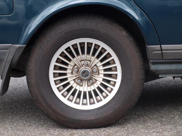 ボルボ ボルボ 240クラシックワゴン 最終限定車 本革シート