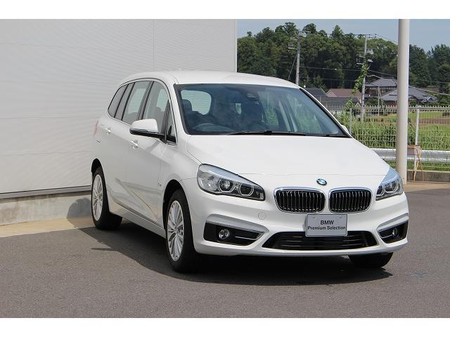 BMW BMW 220iグランツアラー ラグジュアリー 認定中古車 純正ナビ